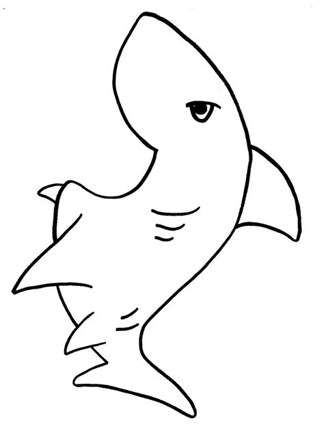 Shark Coloring Pages (11) Coloring Kids Coloring Kids