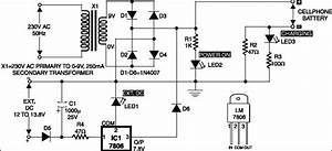 Mobile Phone Charger Circuit