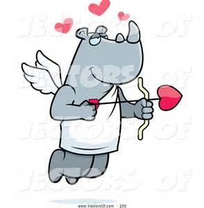 Cupid Shooting Arrow