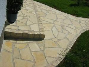 Terrassenplatten Verfugen Wasserundurchlässig : naturstein terrassenplatten polygonalplatten poolplatten auffahrt toscana fliese ebay ~ Orissabook.com Haus und Dekorationen