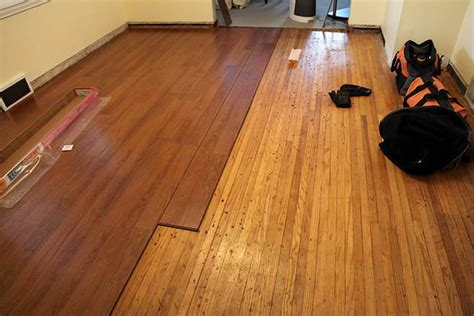 laminate  hardwood flooring difference  comparison