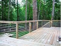 interesting patio railing design ideas 32 DIY Deck Railing Ideas & Designs That Are Sure to ...