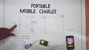 Portable Mobile Charger-circuit Diagram