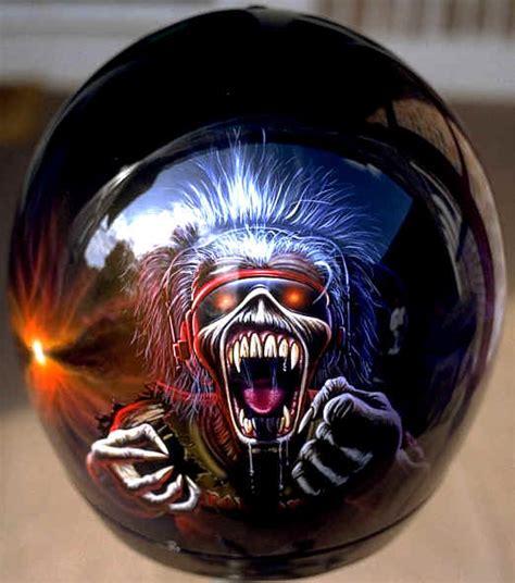 Custom Painted Motorcycle Helmets  Car Interior Design