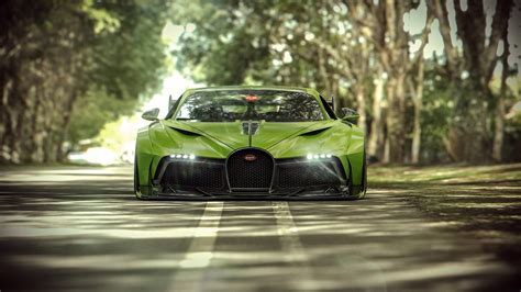 Cars Wallpaper Bugatti Green by Wallpaper Of Bugatti Divo Car Green Sportcar Supercar