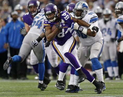 nfl schedule vikings face lions weeks