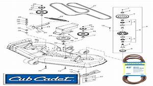 Cub Cadet Mowing Deck Diagram Pictures To Pin On Pinterest