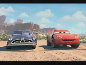 Race Against Lightning McQueen Doc Hudson Cars