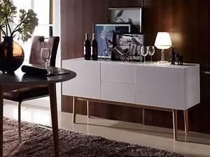 Sideboard 40 Cm Tief : m bel eins meran ii sideboard wei eiche massiv ~ Frokenaadalensverden.com Haus und Dekorationen