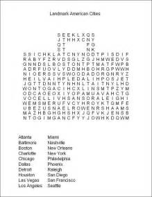 Hard Adult Word Search Puzzles Printable