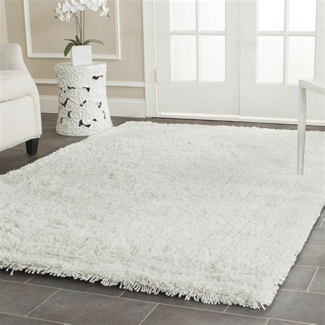 charlton home pierce white shag area rug reviews wayfair