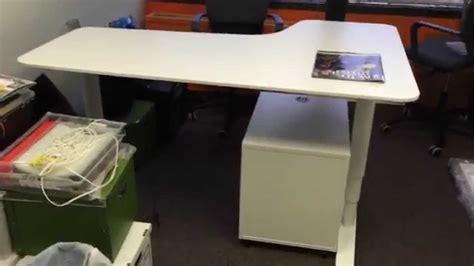 corner computer desk ikea bekant sit stand desk assembly service in dc md va by