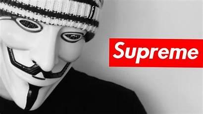 Supreme Anonymous Dark Wallpapersafari