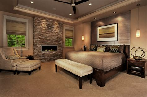 Master Bedroom With Fireplace by Delightful Bedroom Decor Ideas For Master Bedroom