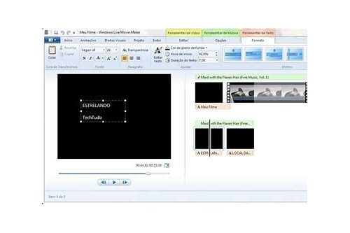 windows movie maker baixar de música gratis baixaki