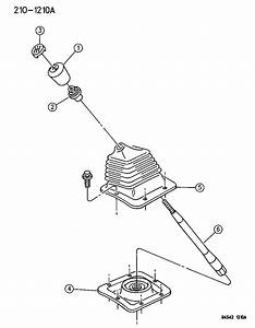 1995 Dodge Ram 3500 Gear Shift Controls Of Manual Transmission