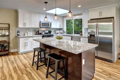 tiling your kitchen transitional kitchen with pendant light skylight in 2827