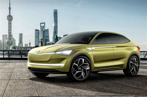 Skoda Vision E It's The Czechs' First Electric Car By Car