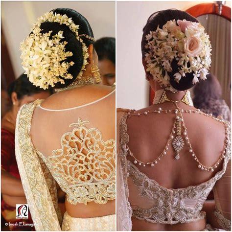 gajra styles  brides fashion  india threads