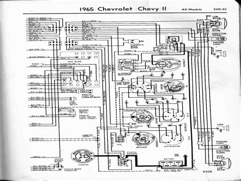 wiring diagram for 1965 chevy wiring forums