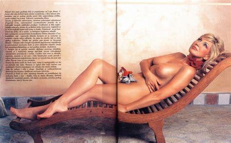 Naked Suzana Mancic In Playboy Magazine Croatia