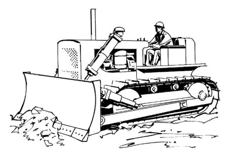 Kleurplaat Machines Landbouw by Bulldozer Bw Working Vehicles Bulldozer Bulldozer Bw