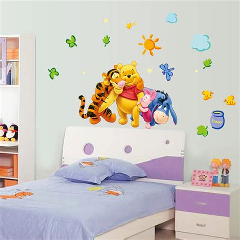 winnie the pooh wall decals tigger animal room nursery stickers decor home 163 1 68