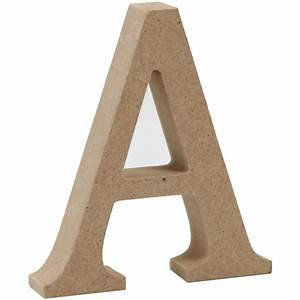 mdf wooden letter a 8 cm hobbycraft With hardwood letters