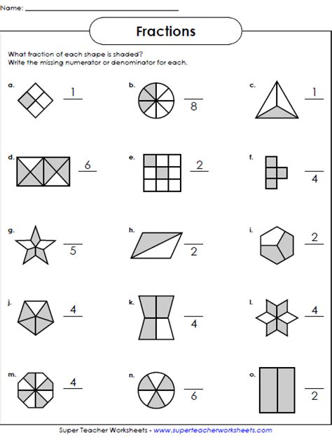 fractions worksheets math worksheets fractions worksheets 2nd grade worksheets fractions