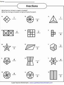 Fractions Worksheets  With Images