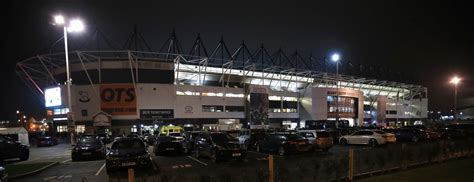 Pride Park Stadium - Derby County