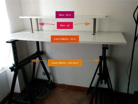 bureau debout bureau reglable en hauteur ikea maison design bahbe com