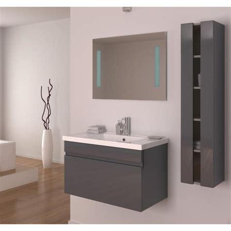 meuble salle de bain gris laque armoire salle de bain gris laque
