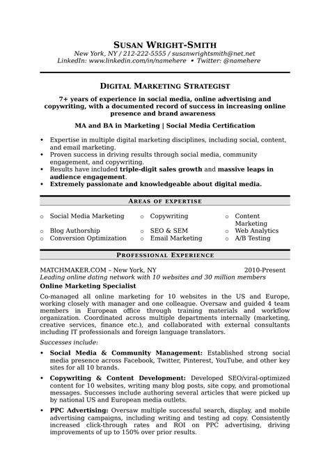 Ask A Hiring Manager Resume by How To Write A Marketing Resume Hiring Managers Will Notice Free Templates Sles