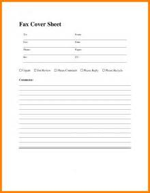 Free Cover Sheet Template For Resume by 8 Sle Fax Cover Sheet Resume Sections