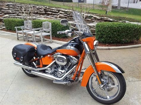 Harley Davidson Softail Cvo Convertible Motorcycles For