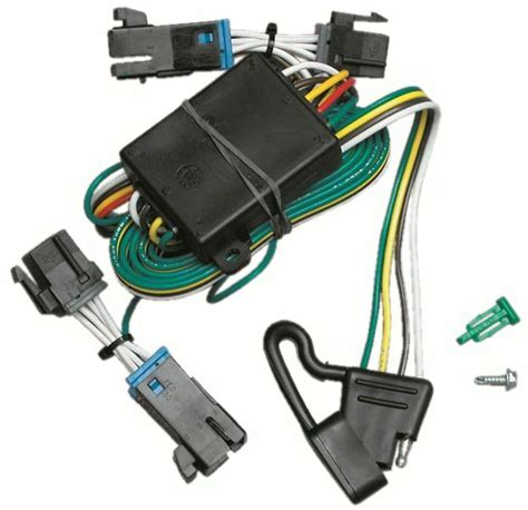 trailer wiring harness kit for 00 02 chevy express gmc