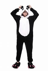 Panda Karneval Kostme Pyjama Tieroutfit Tierkostme