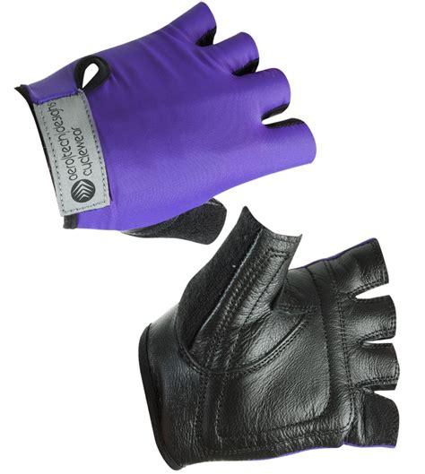 Children's Fingerless Cycling Gloves Padded Palm