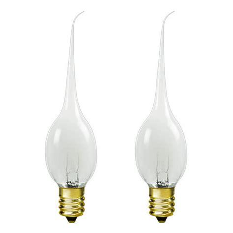 satco s4520 silicone tip bulb decorative bulb