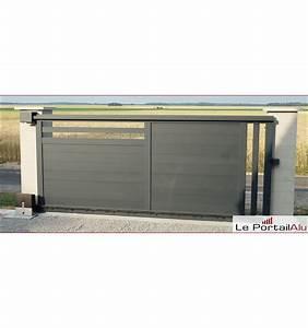 Portail Alu En Kit : motorisation portail came kit coulissant brown line ~ Edinachiropracticcenter.com Idées de Décoration