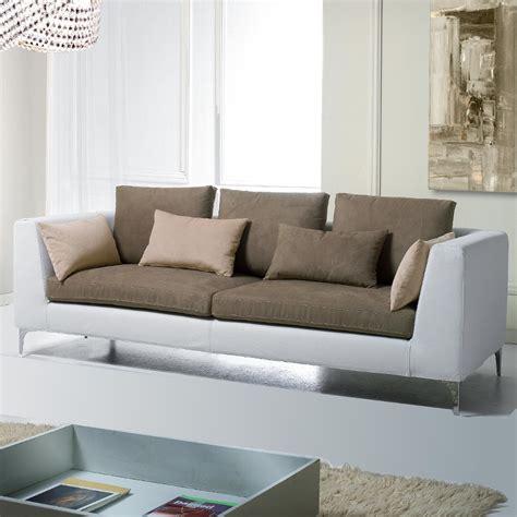 Canape Cuir Et Tissu Maison Canape Moderne
