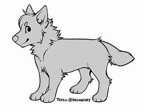 chibi dog lines! [psd] by Zillastar on DeviantArt