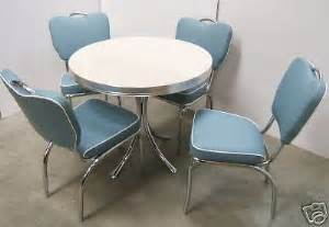 retro 50s american diner furniture kitchen table chairs ebay