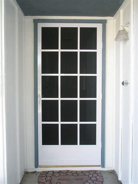 glass screen door unique home designs screen doors buying guide homesfeed