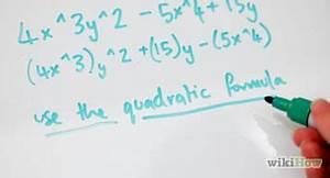 Kubikmeter Kreis Berechnen : polynome zweiten grades quadratische gleichungen faktorisieren wikihow ~ Themetempest.com Abrechnung