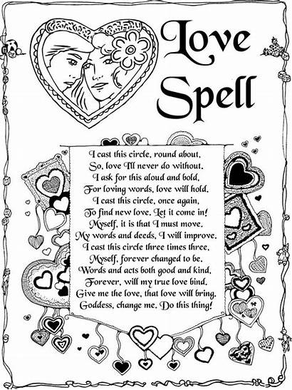 Spells Spell Witch Witchcraft Wiccan Books Pages
