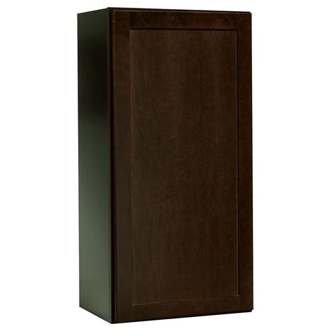 depth of kitchen cabinets hton bay shaker assembled 18x36x12 in wall kitchen 8604