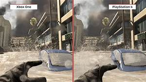 COD Ghosts Xbox One vs PS4 Graphics Comparison | Call of ...