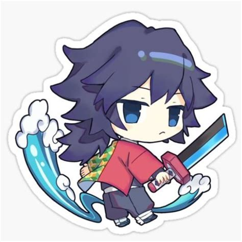 giyuu tomioka sticker anime slayer